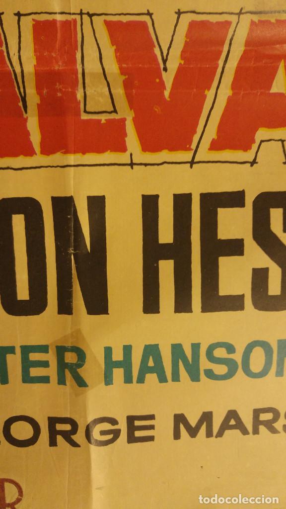 Cine: EL SALVAJE. Charlton Heston, Susan Morrow. AÑO 1964 - Foto 10 - 138134614