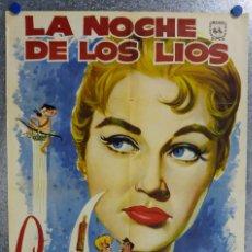 Cine: LA NOCHE DE LOS LIOS. ANALIA GADE, FRANCISCO CHARMIELLO. AÑO 1960. Lote 138135554