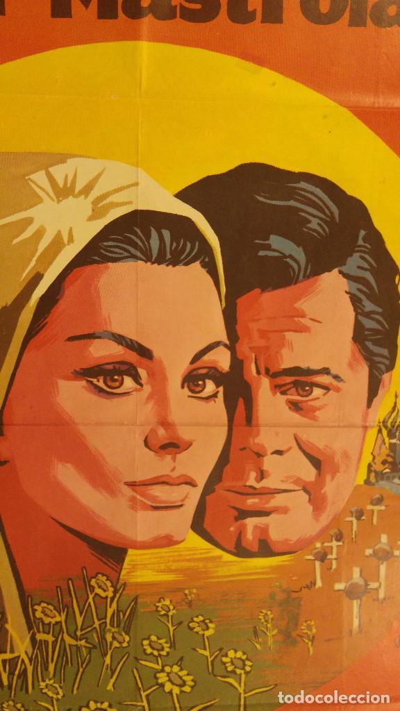 Cine: LOS GIRASOLES. SoFia Loren, Marcello Mastroianni. AÑO 1971 - Foto 2 - 138138294