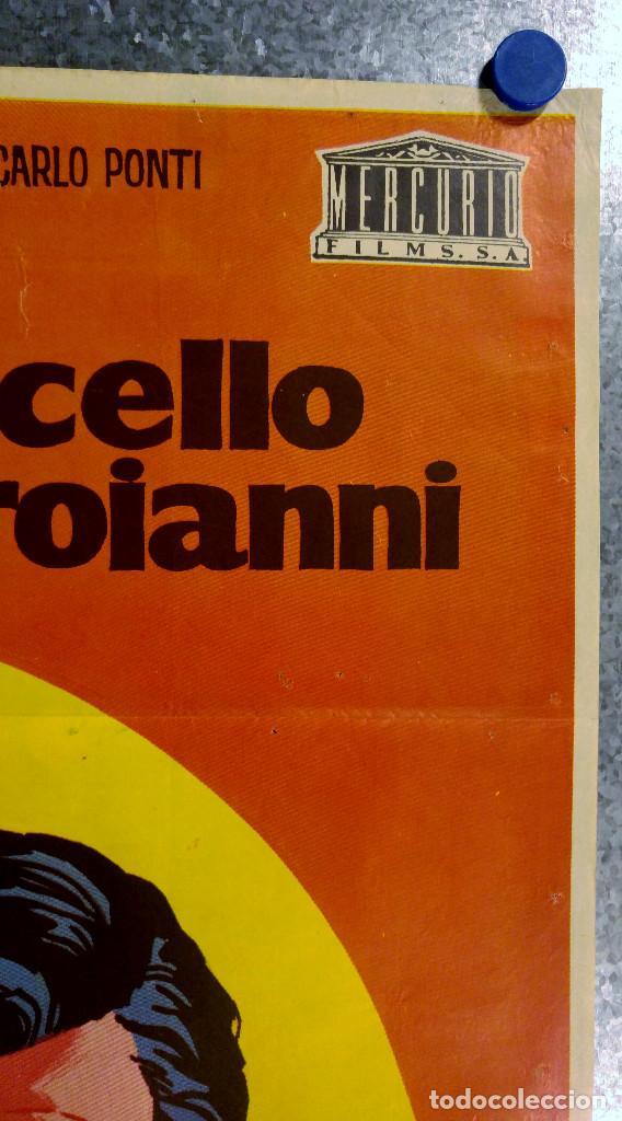 Cine: LOS GIRASOLES. SoFia Loren, Marcello Mastroianni. AÑO 1971 - Foto 3 - 138138294