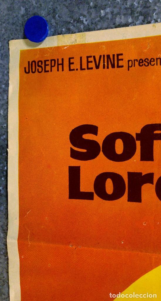 Cine: LOS GIRASOLES. SoFia Loren, Marcello Mastroianni. AÑO 1971 - Foto 8 - 138138294