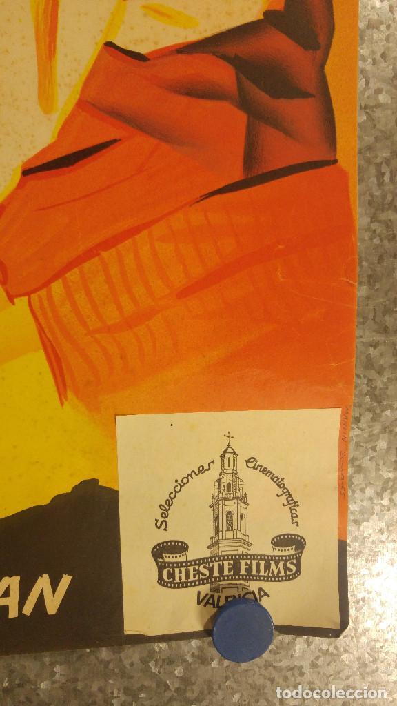 Cine: SERRANIA. PILAR DE ORO, ALFREDO GIL. AÑO 1955 - QUINTERO LEON Y QUIROGA, MUSICA. LITOGRAFIA - Foto 3 - 138139962