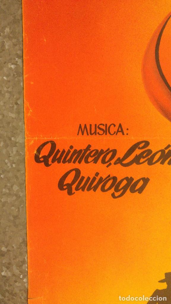 Cine: SERRANIA. PILAR DE ORO, ALFREDO GIL. AÑO 1955 - QUINTERO LEON Y QUIROGA, MUSICA. LITOGRAFIA - Foto 6 - 138139962