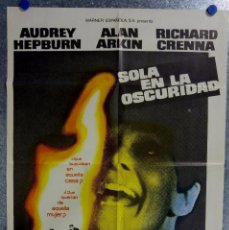 Cine: SOLA EN LA OSCURIDAD. AUDREY HEPBURN, ALAN ARKIN, RICHARD CRENNA. AÑO 1980. Lote 138144862