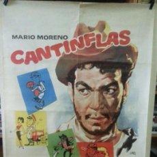 Cine: CANTINFLAS - FESTIVAL (ORIGINAL) 100X70CM. Lote 138524506