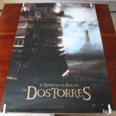 Cine: CARTEL (2002): EL SEÑOR DE LOS ANILLOS: LAS DOS TORRES - 98X68 CM. Lote 138659914