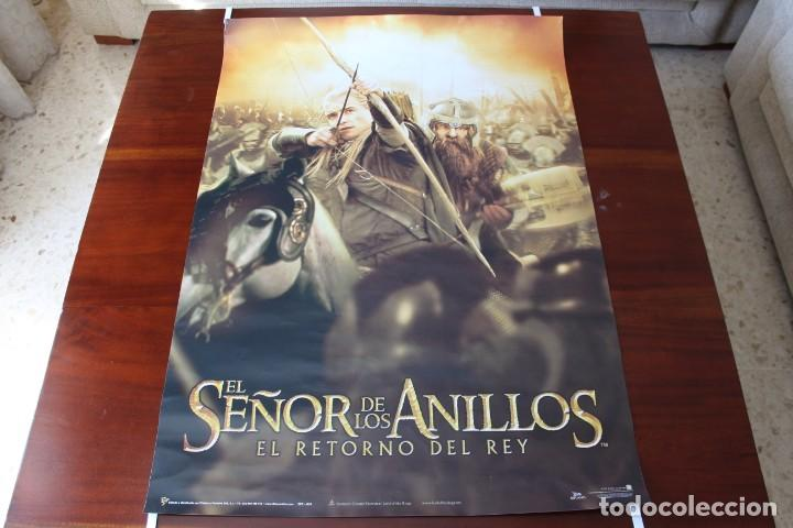 CARTEL (2003): EL SEÑOR DE LOS ANILLOS: EL RETORNO DEL REY - 90X64 CM (Cine - Posters y Carteles - Aventura)
