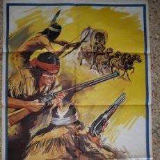 Cine: CARTEL CINE GRAN FORMATO-ASALTO A FUERTE APACHE,1980. Lote 138689114