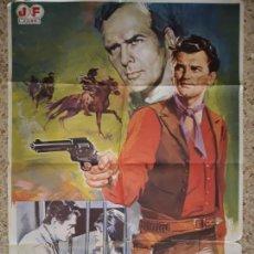 Cine: CARTEL CINE GRAN FORMATO-LOS CUATREROS,1980. Lote 138690598