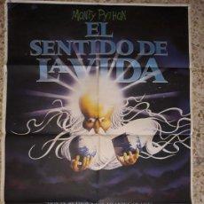 Cine: ORIGINAL CARTEL CINE-EL SENTIDO DE LA VIDA. Lote 138695018