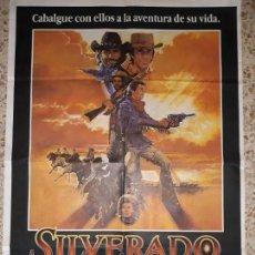 Cine: ORIGINAL CARTEL CINE-SILVERADO,1985. Lote 138697238