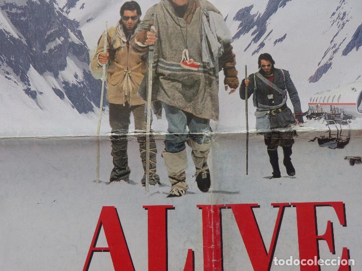 Cine: Alive Movie Poster 1993, Original, Doblado, Ethan Hawke, Paramount Pictures - Foto 2 - 138698718
