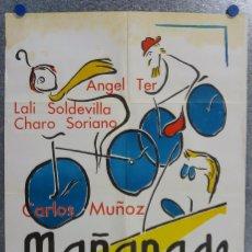 Cine: MAÑANA DE DOMINGO. ANGEL TER,LALI SOLDEVILA, CHARO SORIANO. AÑO 1967. Lote 138887602