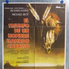 Cine: EL TRIUNFO DE UN HOMBRE LLAMADO CABALLO. RICHARD HARRIS, MICHAEL BECK. AÑO 1983.. Lote 138890446