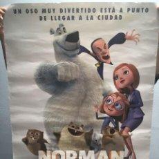 Cine: CARTEL O POSTER DE NORMAN DEL NORTE. Lote 138914990