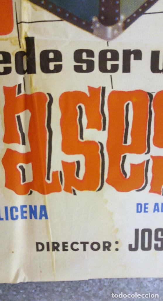 Cine: USTED PUEDE SER UN ASESINO. ALBERTO CLOSAS, J.L. LOPEZ VAZQUEZ, JULIA GUTIERREZ CABA. AÑO 1961 - Foto 3 - 139066958