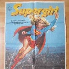 Cine: CARTEL CINE, SUPERGIRL, ALEXANDER SALKIND, JANO, 1984, C864. Lote 139068210