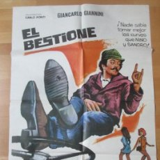Cine: CARTEL CINE, EL BESTIONE, MICHEL CONSTANTIN, SERGIO CORBUCCI, 1975, MCP, C1448B. Lote 139070210