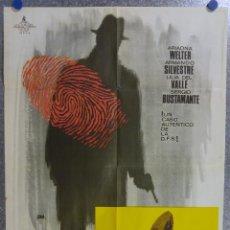 Cine: SIGUIENDO PISTAS. ARMANDO SILVESTRE, ARIADNA WALTER. AÑO 1965. Lote 139075278