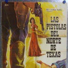 Cine: LAS PISTOLAS DEL NORTE DE TEXAS. JOSEPH COTTEN, JAMES MITCHUM. AÑO 1967. Lote 139078778