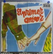 Cine: EL PRIMER AMOR. CARLA GRAVINA, CHRISTINE KAUFMANN, LORELLA DE LUCA. AÑO 1959. Lote 139081314