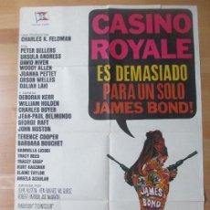 Cine: CARTEL CINE, CASINO ROYALE, JAMES BOND 007, PETER SELLERS, 1977, C1460. Lote 139187538