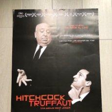 Cine: CINE. POSTER ORIGINAL. HITCHCOCK - TRUFFAUT. JONES.. Lote 139193852