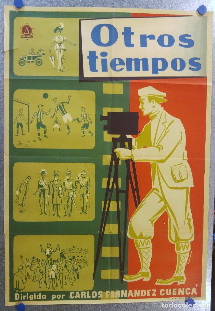 OTROS TIEMPOS. CARLOS FERNANDEZ CUENCA. ESTRENO DELTA FILMS (Cine - Posters y Carteles - Deportes)