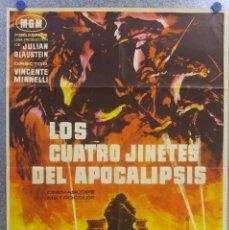 Cine: LOS CUATRO JINETES DEL APOCALIPSIS. GLENN FORD. AÑO 1962. Lote 139203966