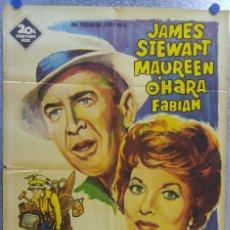 Cine: UN OPTIMISTA DE VACACIONES. JAMES STEWART, MAUREEN O'HARA. AÑO 1964. Lote 139206718