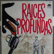 Cine: ZA04 RAICES PROFUNDAS ALAN LADD JEAN ARTHUR MAC POSTER ORIGINAL 70X100 ESPAÑOL. Lote 139287902