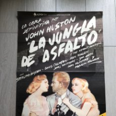 Cinéma: CINE. POSTER ORIGINAL. LA JUNGLA DEL ASFALTO. HUSTON. MONROE.. Lote 139530948