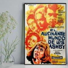 Cine: EL ALUCINANTE MUNDO DE LOS ASHBY – JANETTE SCOTT, OLIVER REED– FREDDIE FRANCIS – 1.965. Lote 139533210