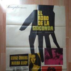 Cine: B-POSTER DE LA PELICULA --EL ROBO DE LA GIOCONDA. Lote 139535910
