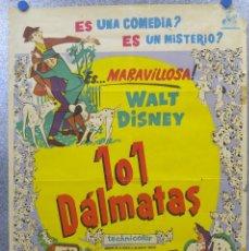 Cine: 101 DALMATAS - WALT DISNEY. AÑO 1961. Lote 139543546