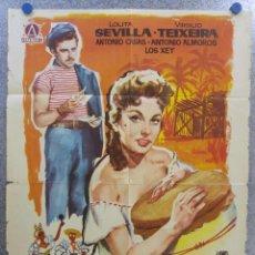 Cine: HABANERA. LOLITA SEVILLA, VIRGILIO TEIXEIRA. AÑO 1962. Lote 139556746