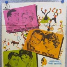 Cine: DÍAS DE FERIA. J. L. LÓPEZ VÁZQUEZ, TONY LEBLANC, JOSÉ ISBERT. AÑO 1960. Lote 139557342