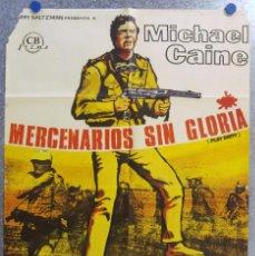Cine: MERCENARIOS SIN GLORIA. MICHAEL CAINE. AÑO 1969. Lote 139565378