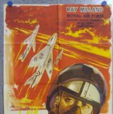 Cinema: ANGELES DE ACERO. RAY MILLAND Y LA ROYAL AIR FORCE. AÑO 1958. Lote 139566326