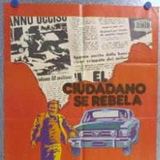 Cine: EL CIUDADANO SE REBELA. FRANCO NERO. AÑO 1975. Lote 139571214
