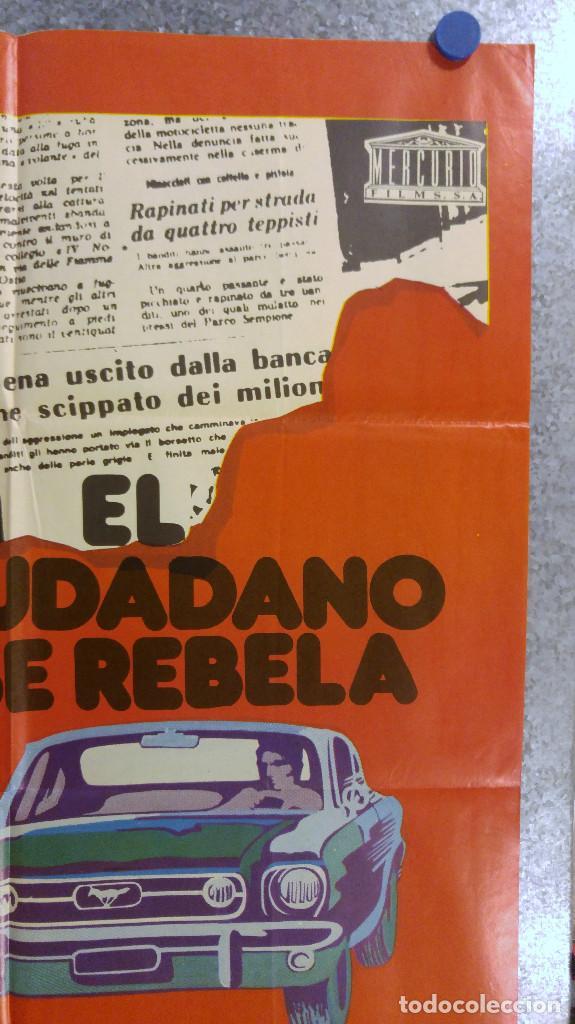 Cine: EL CIUDADANO SE REBELA. FRANCO NERO. AÑO 1975 - Foto 2 - 139571214