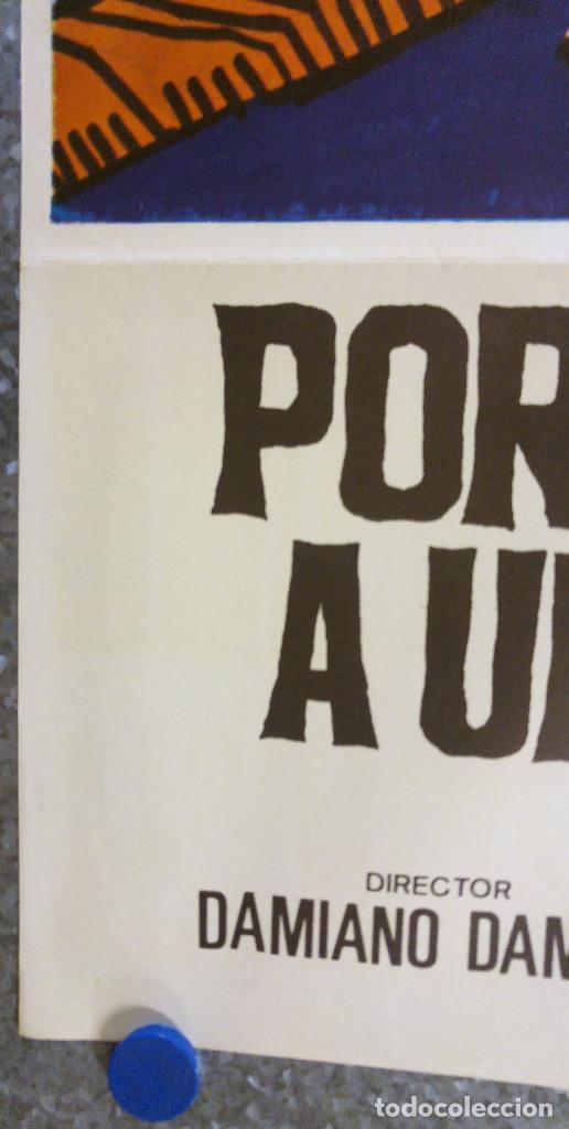 Cine: PORQUE SE ASESINA A UN MAGISTRADO. FRANCO NERO. AÑO 1975 - Foto 4 - 139572002