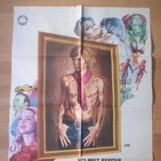 Cine: CARTEL CINE, EL RETRATO DE DORIAN GRAY, HELMUT BERGER, MARGARET LEE, JANO, 1970, JANO C269. Lote 139834404