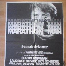 Cine: CARTEL CINE, MARATHON MAN, ESCALOFRIANTE, DUSTIN HOFFMAN, LAURENCE OLIVIER, C1059. Lote 139983426