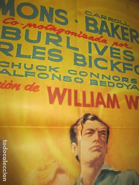 Cine: CARTEL CINE, HORIZONTES DE GRANDEZA, GREGORY PECK, CHARLTON HESTON, 1959, MCP, C1200 - Foto 2 - 139989374