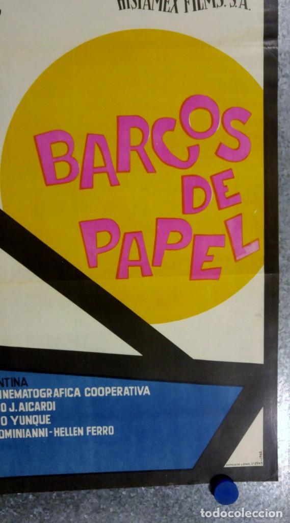 Cine: BARCOS DE PAPEL.PABLITO CALVO. AÑO 1962 - Foto 3 - 140000562
