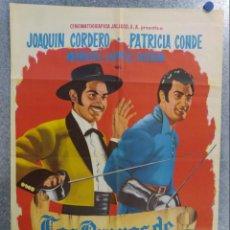 Cine: LOS BRAVOS DE CALIFORNIA. JOAQUIN CORDERO, PATRICIA CONDE, MANUEL LOPEZ OCHOA. AÑO 1965.. Lote 140002214