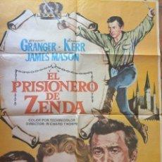 Cine: CARTEL CINE EL PRISIONERO DE ZENDA. Lote 140126910