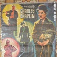 Cine: CARTEL POSTER CINE CANDILEJAS DE CARLES CHAPLIN. Lote 140128290