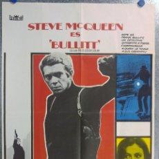 Cine: STEVE MCQUEEN ES BULLIT. JACQUELINE BISSET - ROBERT VAUGHN. AÑO 1978. Lote 140157546